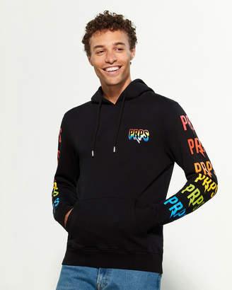 PRPS Rainbow Logo Long Sleeve Hoodie