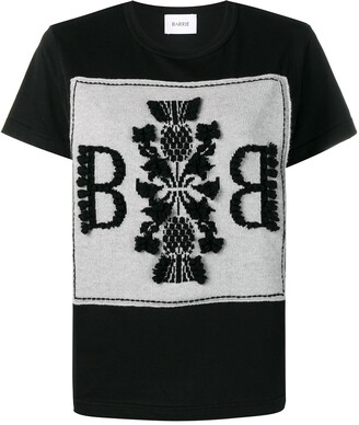 Barrie Logo Embroidered Top