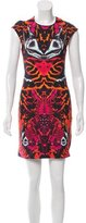 McQ by Alexander McQueen Printed Bodycon Dress