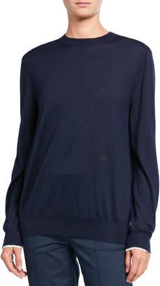 Loro Piana Cashmere Piped Sweater