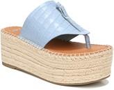 Franco Sarto Malia Espradrille Wedge Slide Sandal