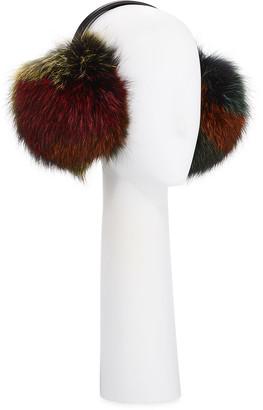 Gorski Fox Fur Earmuffs