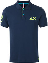Sun 68 contrast logo polo shirt - men - Cotton/Spandex/Elastane - XXL