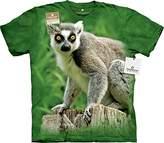 The Mountain Ring Tailed Lemur USA T-Shirt