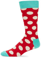 Happy Socks Cotton Blend Crew Socks