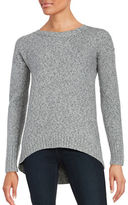 Calvin Klein Long Sleeve High-Low Tunic