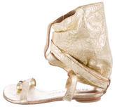 Thomas Wylde Studded Leather Sandals