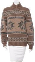 Brunello Cucinelli Patterned Cashmere Sweater