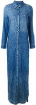 Equipment stonewashed denim dress - women - Cotton - XS