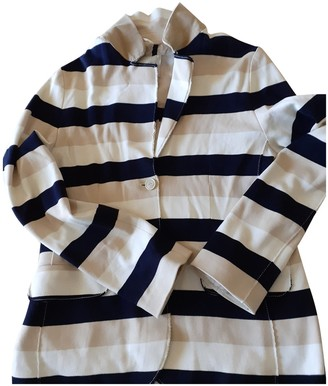 Henry Cotton Ecru Cotton Jacket for Women