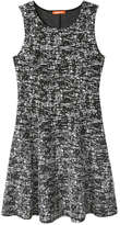 Joe Fresh Women's Textured Knit Dress, Charcoal (Size XL)