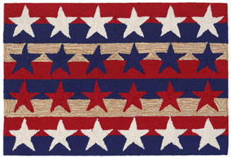 Liora Manné Frontporch Stars And Stripes Hand Tufted Rectangular Indoor/Outdoor Rugs