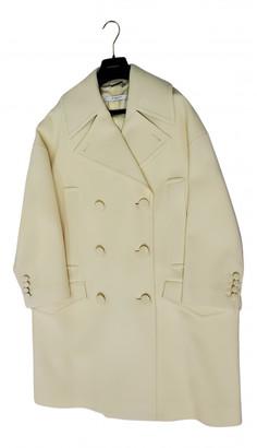 Givenchy Yellow Wool Coats
