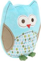 Triboro Quilt Mfg Co Just Born 11 inch Babywise Plush Owl - Light Blue