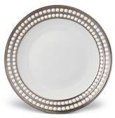 L'OBJET Perlee Pocelain/Platinum Dessert Plate