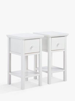 John Lewis & Partners Wilton Bedside Tables, Set of 2