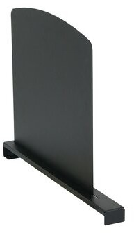 """19.42"""" Agron Training Table Divider with Modesty Panel Latitude Run Size: 17.49"""" H x 19.42"""" L x 2.25"""" W"""