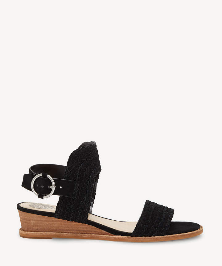 aeb96cbe0dc Women's Raner Low Wedges Black Size 5 Suede From Sole Society