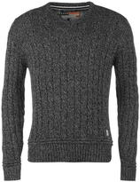 Soul Cal SoulCal Cable Knit V Neck Sweater
