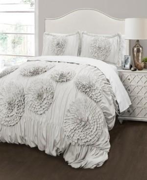 Lush Decor Serena 3Pc Full/Queen Comforter Set Bedding