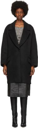 Isabel Marant Black Ego Coat