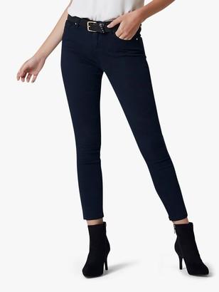 Forever New Hannah Zip Detail Skinny Jeans, Navy