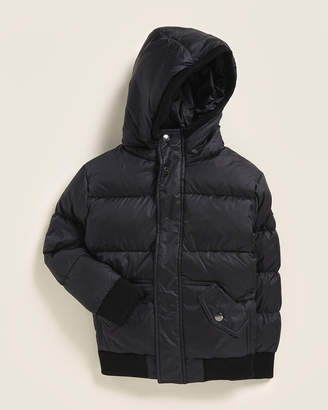 Appaman Newborn/Infant Boys) Black Puffer Down Coat