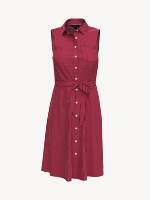 Tommy Hilfiger Essential Sleeveless Shirtdress