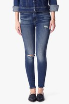 7 For All Mankind The High Waist Skinny With Destroy In Vintage Kensington