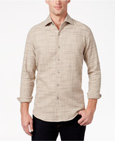 Tasso Elba Men's Brushed Cotton Shirt, Only at Macy's