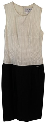 Chanel Black Linen Dresses