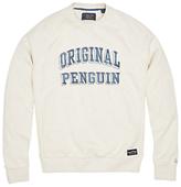 Original Penguin Printed Sweater, Mirage Grey