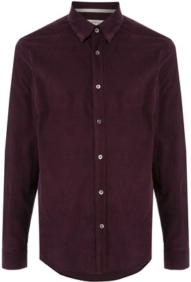 Gieves & Hawkes colour block shirt