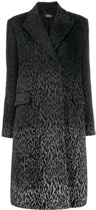 Karl Lagerfeld Paris X Carine Leopard Coat