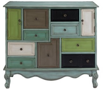 Bungalow Rose Mandel 9 Drawer Accent Cabinet