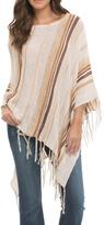 Elan Classic Stripe Poncho