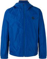 Paul Smith zipped hooded windbreaker - men - Nylon/Polyester - S