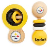Infant Masterpieces 'Nfl - Pittsburgh Steelers' Wooden Rattles