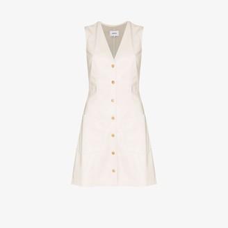 Nanushka Menphi vegan leather mini dress