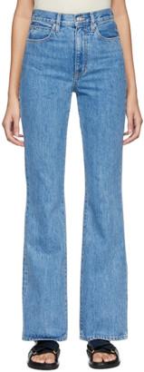 SLVRLAKE Blue Charlotte High-Rise Jeans