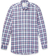 Our Legacy Button-Down Collar Checked Cotton-Flannel Shirt