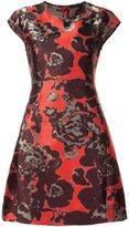 Josie Natori 'roses' printed dress