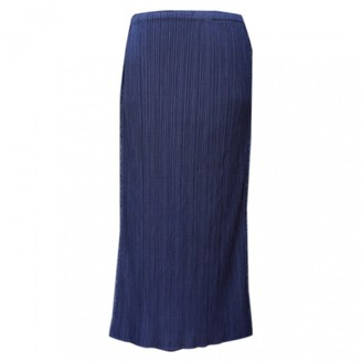 N. Pleats Please \N Blue Polyester Skirts