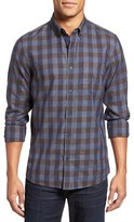 Nordstrom Heathered Check Sport Shirt (Big)