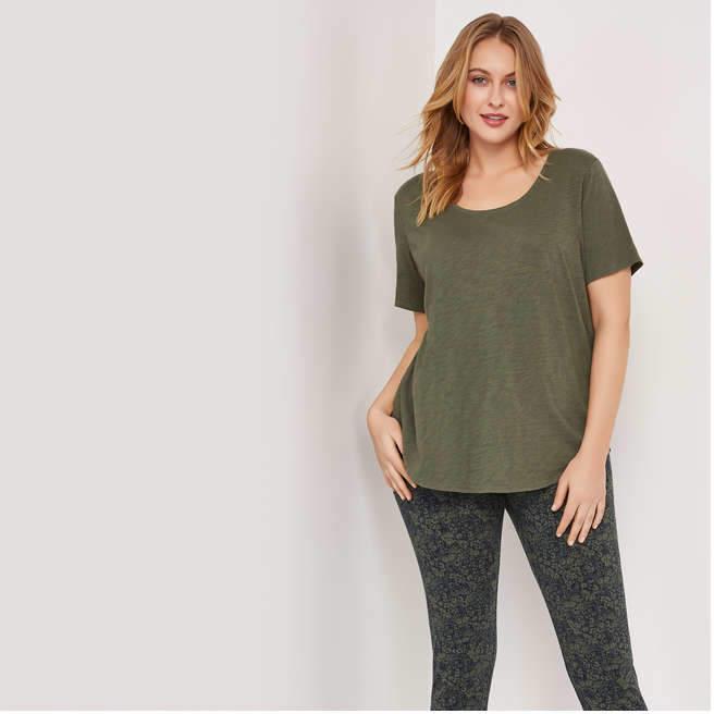 284ffac54bc8 Joe Fresh Plus Size Tops - ShopStyle Canada