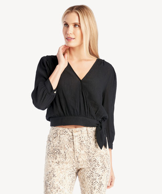 Sole Society The Good Jane Women's Starless Ash Top In Color: Black Size XS From