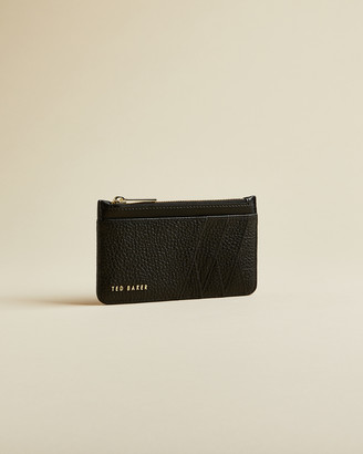 Ted Baker GERII Leather zipped card holder