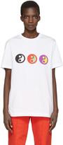Gosha Rubchinskiy White Yin Yang T-Shirt
