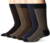 Nautica Men's Core 5 Pack Dress Sock
