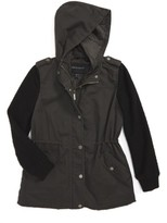 Bernardo Girl's Twill Hooded Jacket